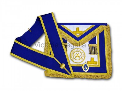 Prov. & Dist. Full Dress Apron & Collar - English Constitution