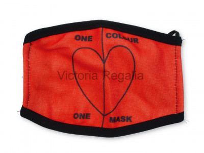 Face Masks with One Colour - One Mask Design