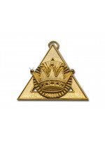 Royal Arch Officer Collar Jewel First Principal - English Constitution
