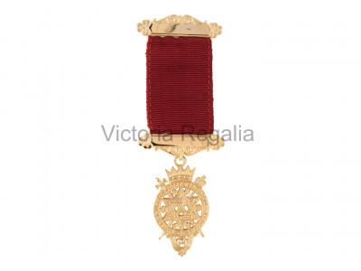 Irish Royal Arch Past Kings Breast Jewel - silver gilt