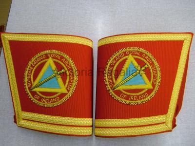 Irish RAC Gauntlets Full Badge - Hand Embroidered - Irish Constitution
