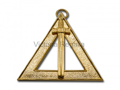 Royal Arch Officers Collar Jewel Janitor - English Constitution