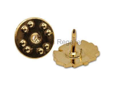 Thistle Masonic Freemasons Lapel Pin