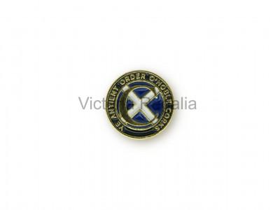 Masonic Round Ye Order of Cork Freemasons Lapel Pin