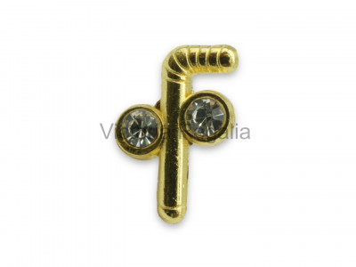 Freemasons Tubal Cane Lapel Pin