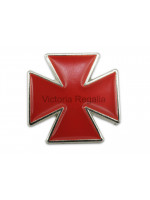 Masonic Nordic Cross Silver Lapel Pin