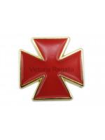 Masonic Nordic Cross Golden Lapel Pin