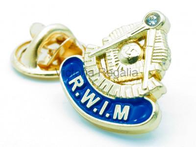 Masonic Right Worshipful Installing Master Lapel Pin
