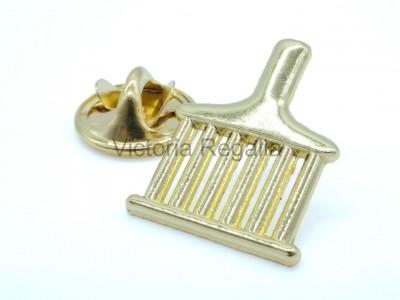 Allied Masonic Degrees Freemasons Lapel Pin - Gold