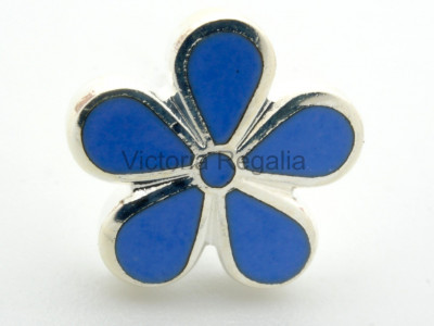 Freemasons Forget Me Not Lapel Pin