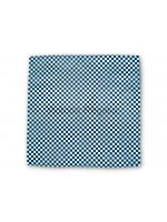 Masonic Black and White Chequered Pocket Square