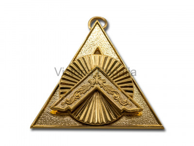 Royal Arch Officers Collar jewel Principal Sojourner - English Constitution