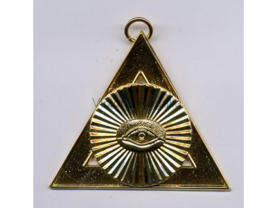 "2nd Principal ""H"" Royal Arch Office Bearers Collar Jewel - Scottish"