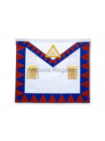 Royal Arch Companion Apron - Lambine -Standard - English  Constitution