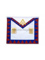 Royal Arch Companion Apron - Finest - Lambskin- English Constitution