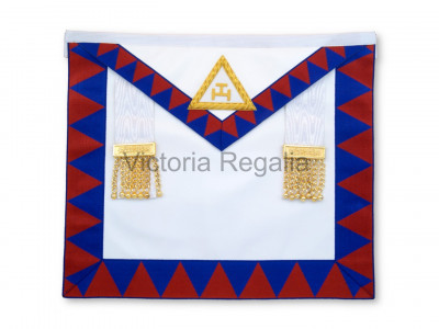 Royal Arch Companion Apron - Finest - Lambskin- English Constitution
