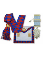 Royal Arch Companion Set with Apron, Sash and Breast Jewel - Finest or Standard - English Constitution