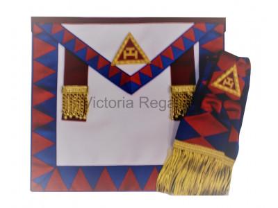 Royal Arch Principals Apron and Sash set - English Constitution