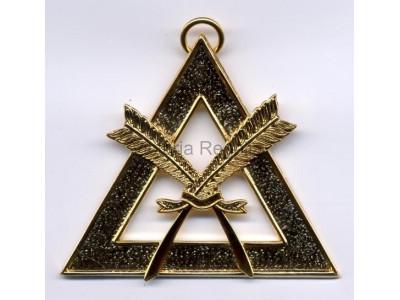 Scribe Royal Arch Office Bearers Collar Jewel - Scottish