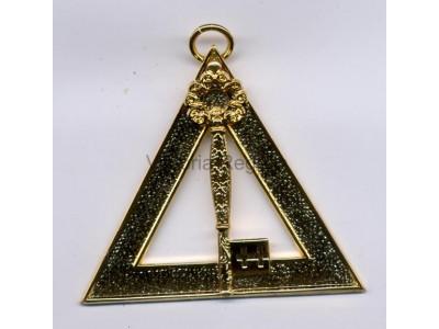 Tresurer Royal Arch Office Bearers Collar Jewel - Scottish