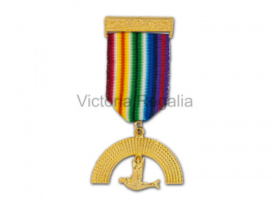 RAM Members Breast Jewel (Gilt) - English Constitution