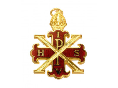 Red Cross of Constantine Sovereign Collar Jewel - English Constitution