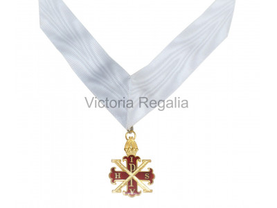 Red Cross of Constantine Sovereigns Jewel and Collarette - English Constitution
