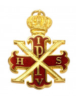 Red Cross of Constantine Viceroy Collar Jewel - English Constitution