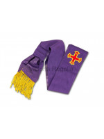 Red Cross of Constantine Knights Sash - English Constitution