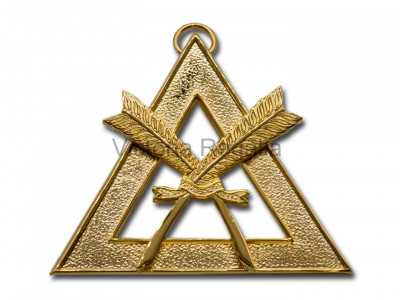 Royal Arch Officers Collar Jewel Scribe - English Constitution