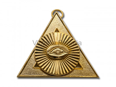 Royal Arch Officers Collar Jewel second Principal - English Constitution