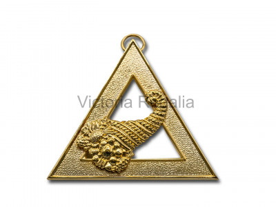 Royal Arch Officers Collar Jewel Steward - Englich Constitution