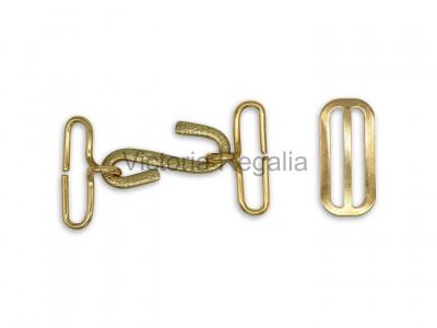 Masonic Apron Belt Metalwork Belting system set 32 mm Gilt