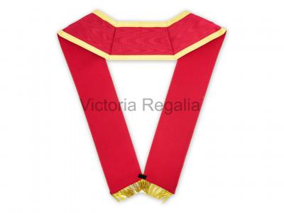 Irish RAC Collar with Gold Lace, Button and 2 inch Bullion Fringe -Irish Constitution