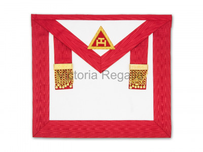 Irish Royal Arch Kings/Past Kings and Mark Mason Combination Apron standard - Irish Constitution