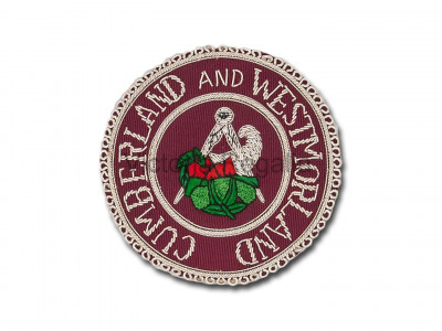 Stewards Apron Badge - English Constitution