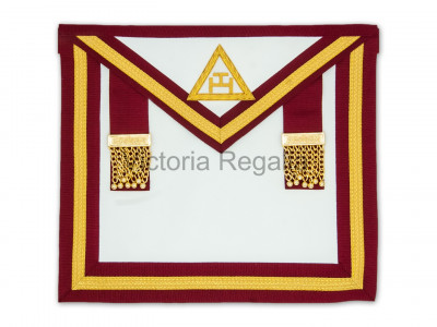 Irish Royal Arch Companions Apron Super-Irish Constitution