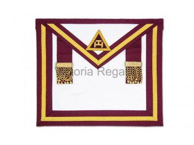 Irish Royal Arch Past Kings Apron No Fringe Standard - Irish Constitution