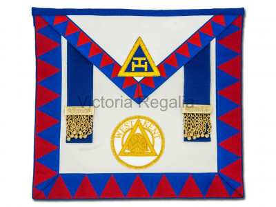 Royal Arch Provincial & District Apron & Sash Set - Standard - English Constitution