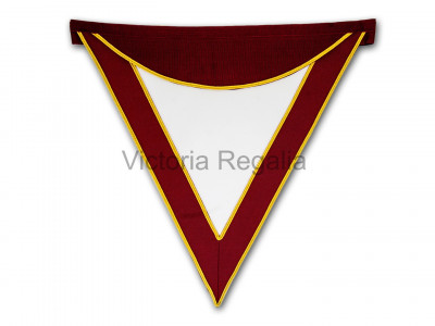 Royal Select Masters Members Apron Standard- English Constitution