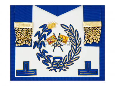 Grand Lodge Undress Apron - English Constitution