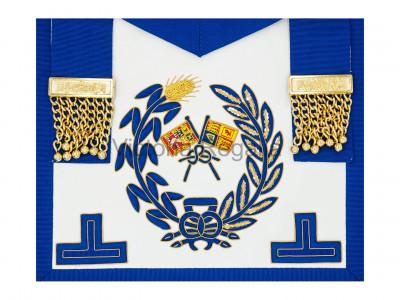 Grand Lodge Undress Apron - English Constitution