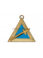 Irish Royal Arch Captain of the Blue Veil Collar Jewel