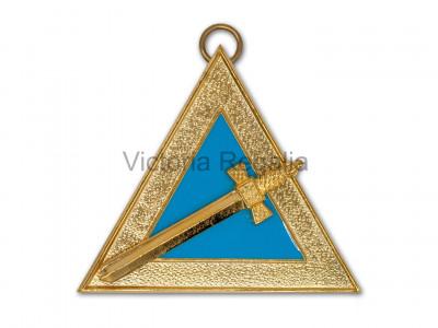 Irish Royal Arch OB Veil Collar Jewels - Irish Constitution