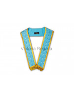Irish Provincial Collar Trimmed with Gold Lace