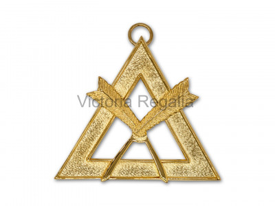 Irish Royal Arch Registrar Officers Collar Jewel