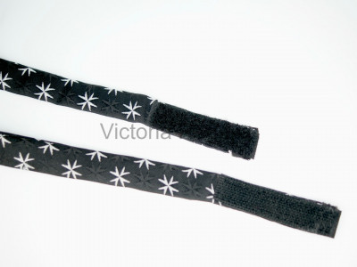 Masonic Bow Tie with Maltese Cross Pattern