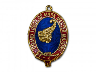 Grand Mark Past Rank collar jewel-English constitution - English Constitution
