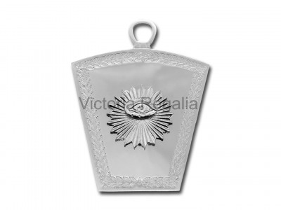 Mark Overseer Officers Collar Jewel - English Constitution