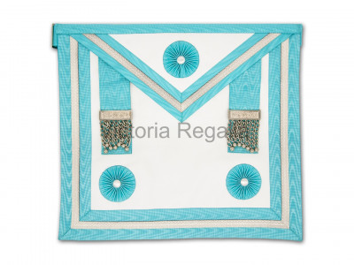 Irish Master Masons Apron Dressed- Finest